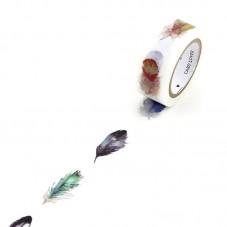 Rouleau de Masking Tape Plume 15mmx7m