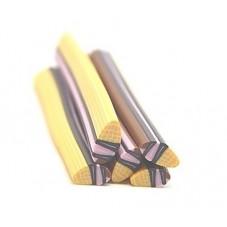 5 Canes Glace en Pâte Polymère 5cm pour la Création de Bijoux Fantaisie - DIY