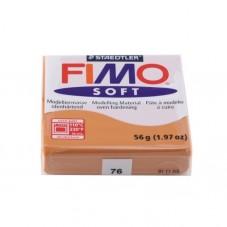 FIMO Soft N°76 Cognac Pain 56grs
