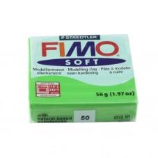 FIMO Soft N° 50 Vert Pomme Pain 56gr