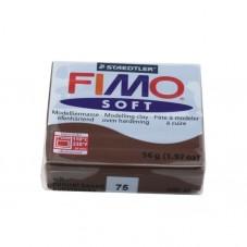 FIMO Soft N°75 Chocolat Pain 56gr