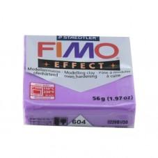 FIMO Effect N°604 Lilas Translucide Pain 56g pour la Création de Bijoux Fantaisie - DIY