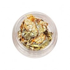 Boîte de Feuille d'Or Reflets Verts 15x30mm