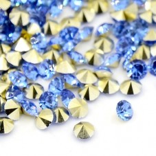 Strass Crystal Bleu 5mm Sachet de 2g