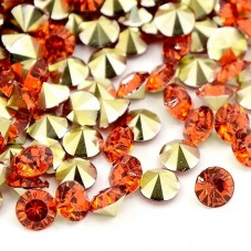 Strass Crystal Orange 5mm Sachet de 2g