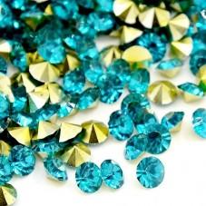 Strass Crystal Turquoise 5mm Sachet de 2g pour la Création de Bijoux Fantaisie - DIY
