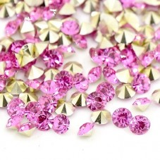 Strass Crystal Rose 5mm Sachet de 2g