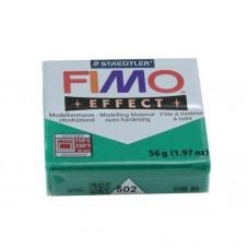 FIMO Effect N°502 Vert Pailleté Pain 56g
