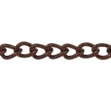 90 Centimètres de Chaine Fine Cuivre Rouge 1.5mm