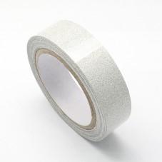 Rouleau de Masking Tape Argenté Paillette 15mmx4m