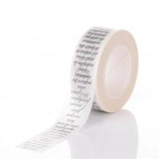 Rouleau de Masking Tape Écriture en Français 15mmx10m
