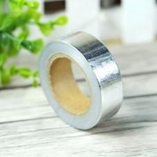 Rouleau de Masking Tape Argenté 15mmx10m