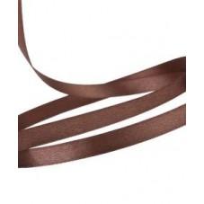 2 Mètres de Ruban Satin Chocolat 6mm