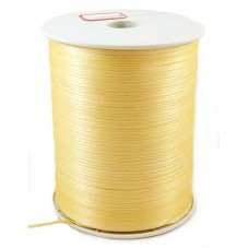 6 Mètres de Ruban Satin Jaune D'Or 3mm