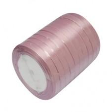 2 Mètres de Ruban Satin Couleur Vieux Rose 10mm