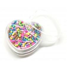 Boîte de Vermicelles Faux Sucre Multicolore 2grs