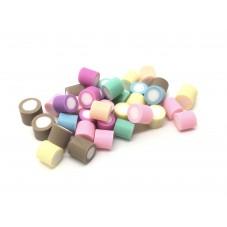 10 Bonbons Bicolores Miniatures Fimo pour Fiole 5mm