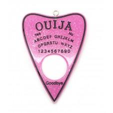 Breloque Ouija en Résine Gothique 60x42mm