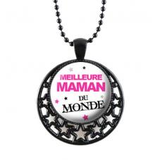 """Collier """"Meilleure Maman..."""" Cadeau Maman Fête des Mères"""