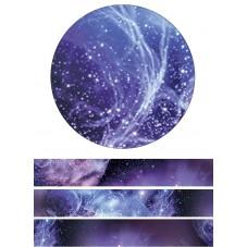 Rouleau de Masking Tape Voie Lactée Étoile Espace 15mmx10m
