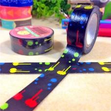 Rouleau de Masking Tape Tâche de Peinture 15mmx8m