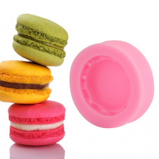 Moule en Silicone Macaron Fimo Résine Gâteau