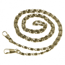 Chaîne Bronze Rétro pour Accroche Sac à Main 120cm pour la Création de Bijoux Fantaisie - DIY