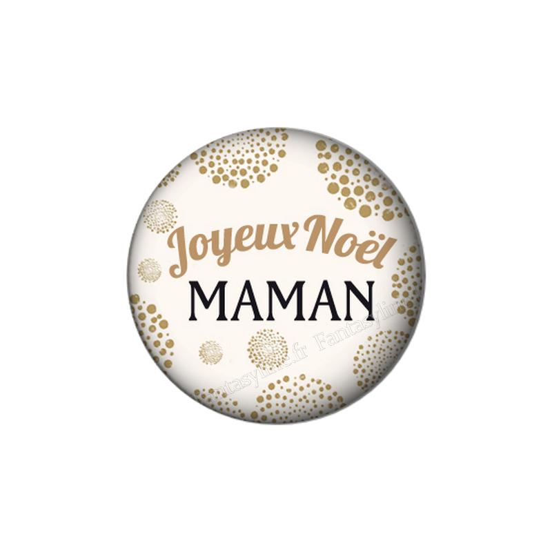 Joyeux Noel Mere Noel.Cabochon En Resine A Coller Joyeux Noel Maman 25mm Fantasyline