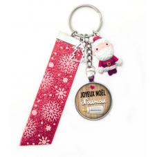 "Porte-clé ""Joyeux Noël  Nounou"" Cadeau de Noël Original"