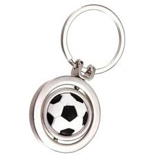 Porte-Clé Ballon de Foot Sport Pivotant Idée Cadeau