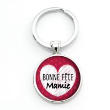 """Porte-clé """"Bonne Fête Mamie"""" Cadeau Fête des Grands-Mères Anniversaire Noël"""