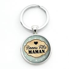 """Porte-clé """"Bonne Fête Maman"""" Cadeau Fête des Mères"""