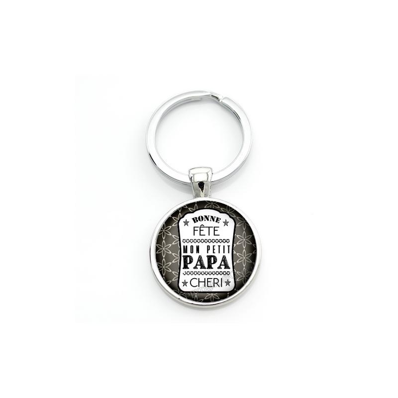 """Porte-clé """"Bonne Fête Papa"""" Cadeau Fête des Pères"""