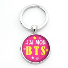 """Porte-clé """"J'ai mon BTS"""" Idée Cadeau Réussite Diplôme Examen"""