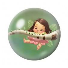 Cabochon en Verre Illustré Fée Arbre Branche 12 à 25mm pour la Création de Bijoux Fantaisie - DIY