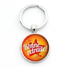 """Porte-clé """"Bonne Retraite"""" Cadeau Original Humour Retraite"""