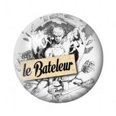 Cabochon en Verre Illustré Tarot Divinatoire 18, 20 ou 25mm