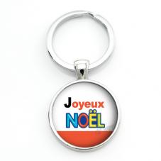 "Porte-clé ""Joyeux Noël"" Cadeau de Noël Original Humour"