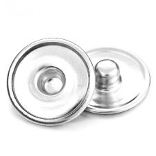 5 Supports Bouton Pression Snap pour Cabochon 16mm pour la Création de Bijoux Fantaisie - DIY