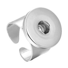 Support Bague en Acier Inoxydable pour Bouton Snap 18mm