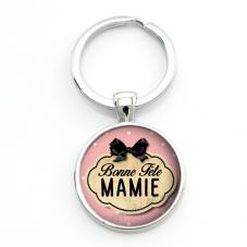 """Porte-clé """"Bonne Fête Mamie"""" Cadeau Fête des Grands-Mères"""