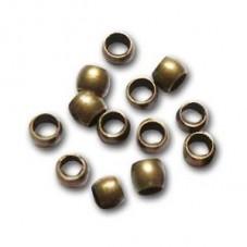 Environ 300 Perles à Écraser Bronze 2mm Sachet de 5grs pour la Création de Bijoux Fantaisie - DIY