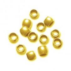 Environ 300 Perles à Écraser Doré 2mm Sachet de 5grs pour la Création de Bijoux Fantaisie - DIY