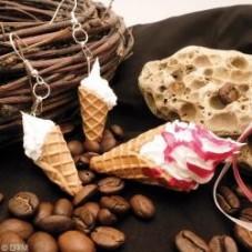 2 Plaques de Textures Gauffre Pâte Polymère Fimo pourla création de bijoux fantaisie - DIY