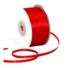 6 Mètres de Ruban de Satin Rouge 3mm  pour la Création de Bijoux Fantaisie - DIY