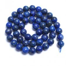 5 Perles Pierre Naturelle Lapis Lazuli 8mm pour la Création de Bijoux Fantaisie - DIY