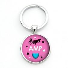 """Porte-Clé """"Super AMP"""" Cadeau Original Anniversaire Noël"""