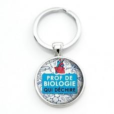 """Porte-clé """"Prof qui déchire"""" Cadeau Original Humour Anniversaire Noël pour la Création de Bijoux Fantaisie - DIY"""