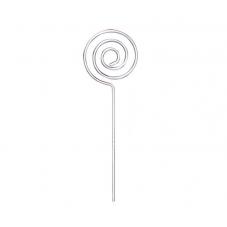 2 Tiges Métalliques  Porte-Photo Marque-Place Spirale 10cm