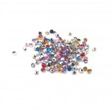 Strass Crystal Multicolore 1.5mm Sachet de 1g pour la Création de Bijoux Fantaisie - DIY